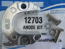 12703 Anode assembly