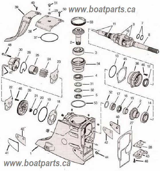 omc cobra outdrive parts drawings sterndrive tools rh boatparts ca omc sterndrive shop manual omc stern drive manual 1984