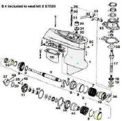 OMC electric shift parts