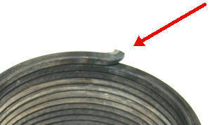 Stringer outdrive replacement spring
